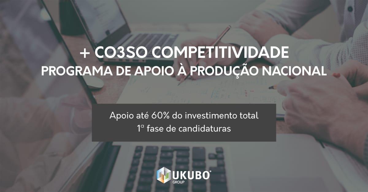 +CO3SO Competitividade – Programa de Apoio à Produção Nacional
